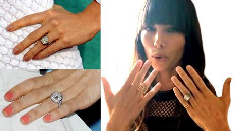 Justin Timberlake and Jessica Biel engagement ring